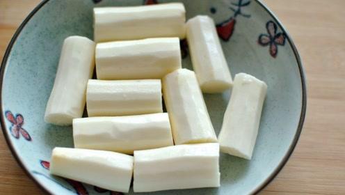 原来山药去皮这么简单,一根筷子就搞定,去皮快速干净,手也不痒
