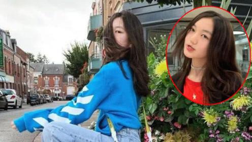 远赴国外的李嫣大方晒特写美照,嘴唇有变化的她,自信又好看!