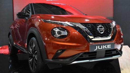 搭1.0T三缸动力 全新一代日产JUKE亮相