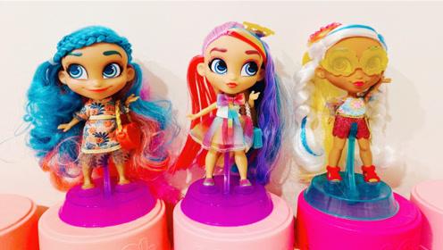 超级可爱!拆一款美发娃娃三代系列盲盒