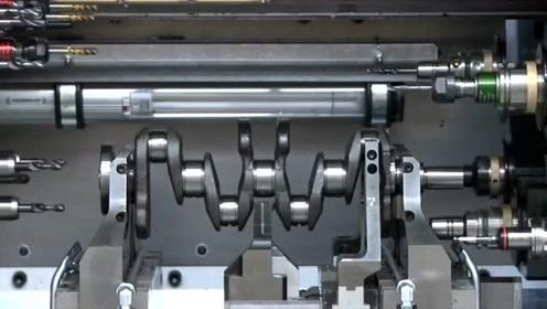 发动机曲轴制造过程,这才是发动机关键,难得一见的大场面