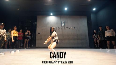 舞邦 Haley Song 课堂视频 Candy