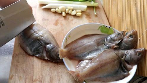 偏口鱼最正宗的家常做法,色香味俱全,简直太美味了