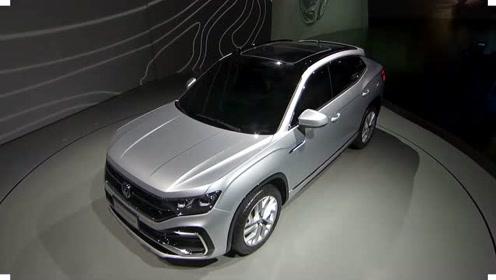 一汽大众的旗舰SUV登场,车长达5米1,配2.5T V6发动机