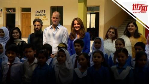 威廉王子与巴基斯坦学生追忆母亲:我是我母亲的头号粉丝