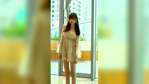 这种女生一旦关闭了长腿特效,会发生什么呢?