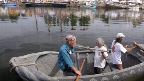 一位神奇的老爷子,制作出石头船,每月能带来上万收益!