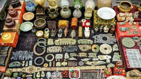 中国人气最旺的旧货市场,神一般的商品,不想被骗请带上老师傅!