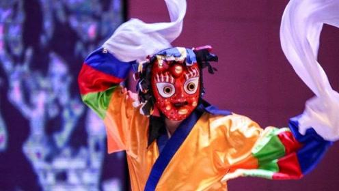 韩国假面舞节上还有中国的川剧变脸,40万奖金等你带走