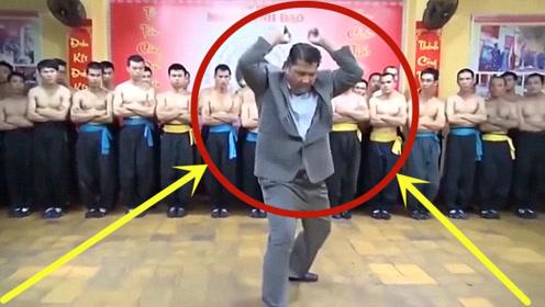 越南武术大师现场表演,使出压轴绝技,隔着屏幕我笑疯了!
