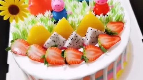 创意十足的蛋糕裱花,这手艺太赞了!