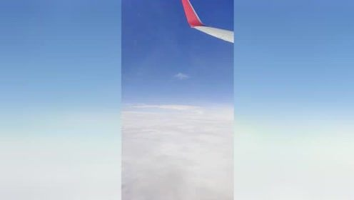 飞机上的风景就是很好看