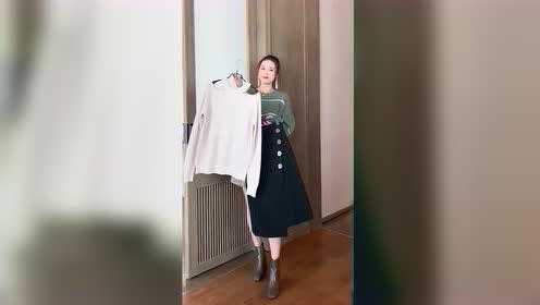 早秋这样穿,干净利落的职业女性装扮,绝对是公司里最靓的仔!
