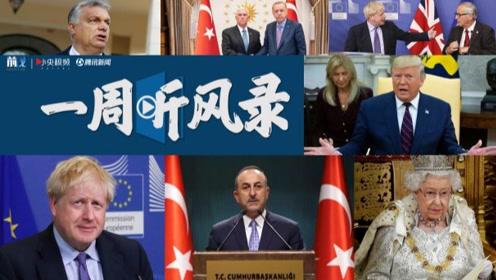 """一周听风录:美土达成停火协议 英国欧盟达成""""脱欧协议"""""""
