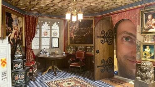 12岁开始沉迷制作迷你城堡,坚持30年,做成的城堡太美了!