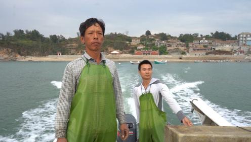 烽雄组合齐上阵,带着央视记者去赶海,满满鱼货这次怕是要火了