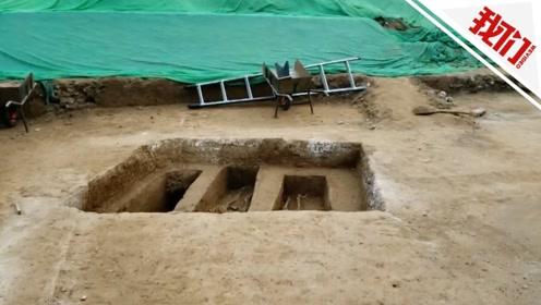 北京地铁14号线景泰站附近发现古墓 实拍考古发掘现场
