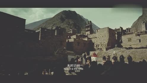 杀生:经典片段,黄渤当着全村人的面,在圣水里洗澡,太贱了