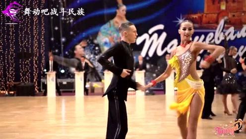 练拉丁舞会比同龄人更成熟?俄罗斯少女们的表演令人难忘