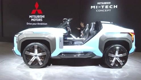 三菱变身概念车狂魔,东京车展亮出狂野敞篷SUV