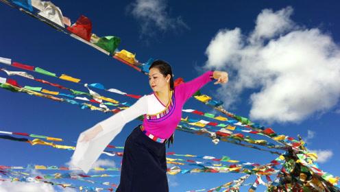锦瑟舞语-藏族舞《为你等待》编舞:艺莞儿