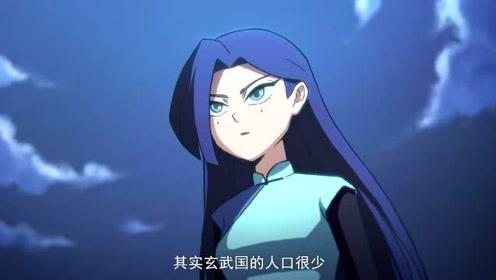 伍六七之最强发型师:梅花十三也是玄武国刺客之一,她奉命刺杀七哥图片
