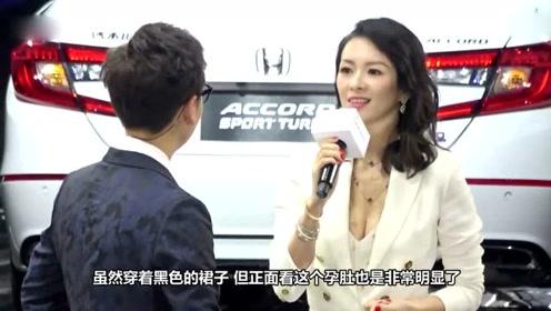 章子怡出席东京电影节,手捂大孕肚姿态很优雅