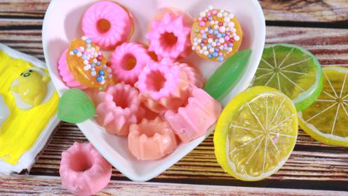 DIY手工皂,小蛋糕手工皂,好看极了