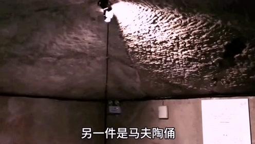西汉楚王墓里出现了饮马槽和栓马石,马厩顶部还像个蒙古包