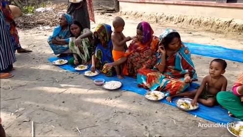 印度农村大揭秘,实拍印度乡村婚姻现场,环境简陋苍蝇乱飞