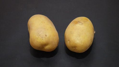 土豆去皮好方法,又快又不浪费,学会记得告诉家人和朋友
