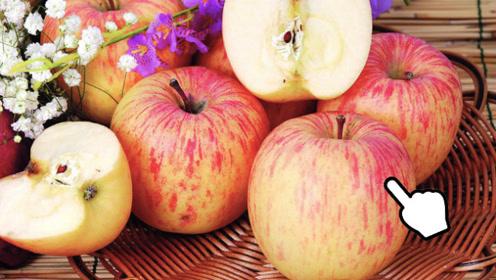 """挑选苹果有诀窍,死记1个""""小机关"""",甜不甜立马知道,方法真棒!"""