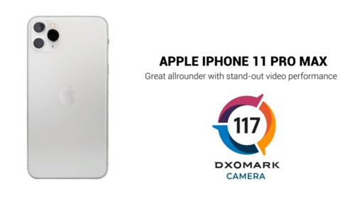 DXOMark公布iPhone 11 Pro Max评分:全球第三!