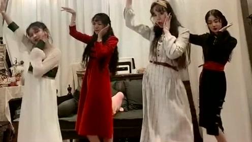 萌妹子也跳起了最近超火的《大田后生仔》,简直不要太可爱!