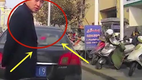 嚣张男竟人肉加塞,真是不要脸,身后司机就差一脚油门!