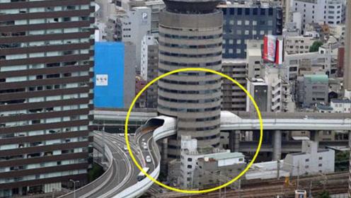 日本奇葩钉子户软硬不吃,硬让公路从大楼穿过,如今却成热门景点