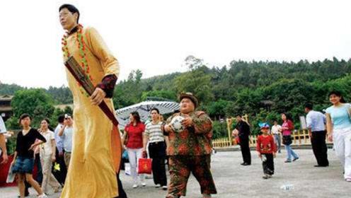 中国第一巨人!身高2.42米的他,现在过得如何?看完沉默了!