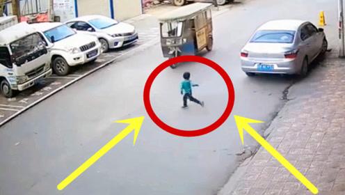 """3岁男童飞奔过马路,瞬间""""终身残废"""",不料更可恨的还在后面!"""