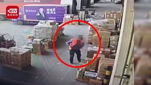 惊了!男子上班3天2天作案 盗窃1400多元女性化妆品