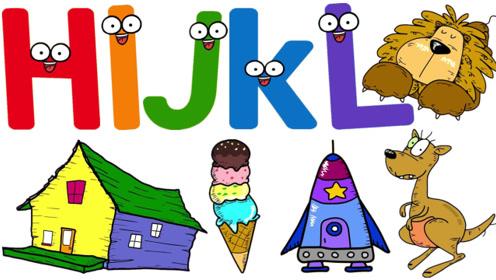 快乐英语abc儿童英语26个英语字母学习