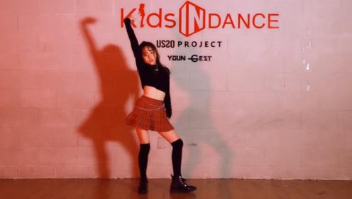 韩国小美女 KIDS 舞蹈翻跳 CHUNG HA 金请夏《Chica》