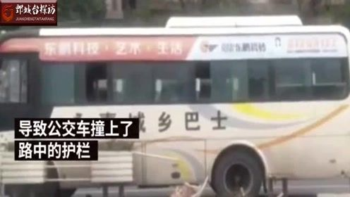 浙江男子为半路下车拉扯司机,致大巴车失控撞上路边护栏
