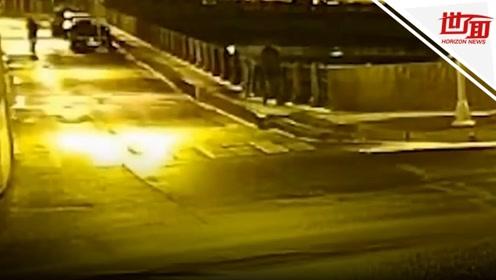 监拍:俄大学教授谋杀女学生 深夜往河里抛尸时被抓获