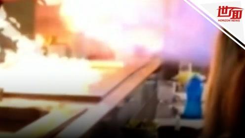 铁板烧师傅炫技喷出恐怖大火 幼童庆生惨被烧毁容