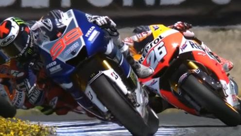 骑大摩托拐弯时,为什么参赛选手要侧面贴地?可不仅仅是为了耍帅