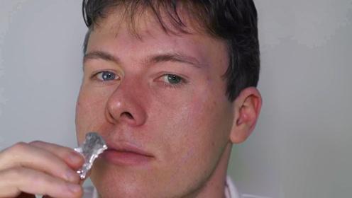 小伙自己用汞做饼干吃,还把化学用具当厨具,难道他不怕中毒吗?
