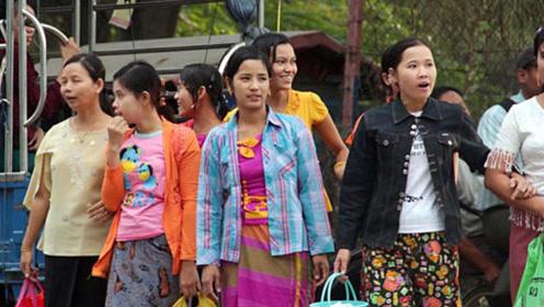 """中缅边境,常见这些""""缅甸女孩""""跨墙到中国,从事行业让人很心酸"""
