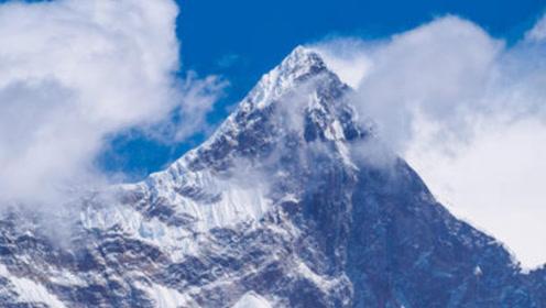 珠穆朗玛峰高达8844米,但其巅峰高度比现在高出3000米