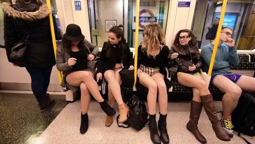 """俄罗斯最""""开放""""节日,往地铁内逛一圈,真是让人难以把控!"""
