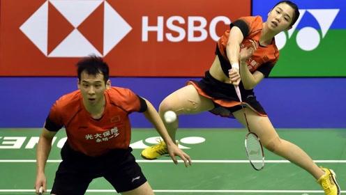 世界羽联公开赛现争议一幕!中国混双获胜后遭改判输球